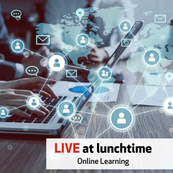 Live at Lunchtime - Online Learning